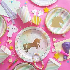 Unicorn Feestartikelen  ☆ Confetti & Balloons☆ #kidsparty #unicornparty