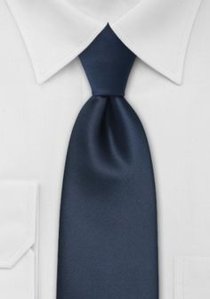 Moulins Krawatte in navyblau, lang