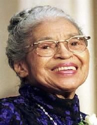 "BLACK HISTORY MONTH: Rosa Parks, African-American civil rights activist; Congress called her the ""first lady of civil rights"" and the ""mother of the freedom movement"" Rosa Parks, Marie Curie, Mahatma Gandhi, James Dean, Martin Luther King, Steve Jobs, Audrey Hepburn, Einstein, Photo Star"