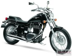 Suzuki Boulevard s40.. My current bike :) absolutely love it and love riding!