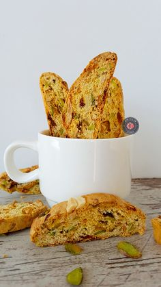 Biscotti - My site Biscotti, Breakfast Tea, Tasty, Yummy Food, Donuts, French Toast, Food Photography, Bakery, Food And Drink