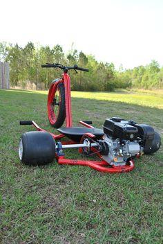 Bike Drift, Drift Trike Frame, Tricycle Bike, Trike Motorcycle, Custom Trikes, Custom Motorcycles, Drift Kart, Drift Trike Motorized, Go Kart Frame