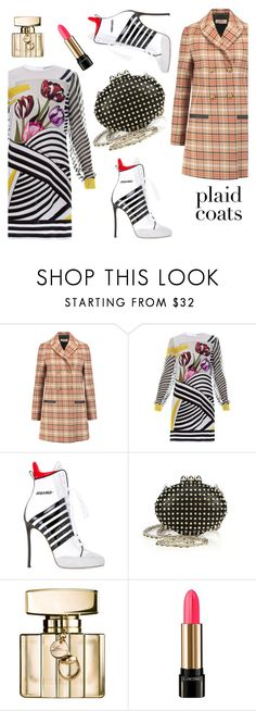 """""""Untitled #247"""" by ivanov1234491 ❤ liked on Polyvore featuring Tory Burch, Mary Katrantzou, Dsquared2, Christian Louboutin, Gucci and Lancôme"""