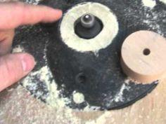 wood wheel making - YouTube