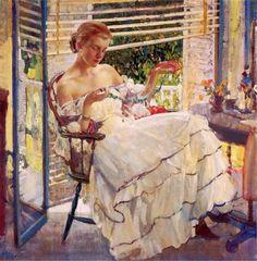Richard E. Miller | Pintor impresionista estadounidense