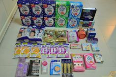 osaka/ kyoto items comparison