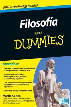 Filosofia para Dummies – Martin Cohen | FreeLibros