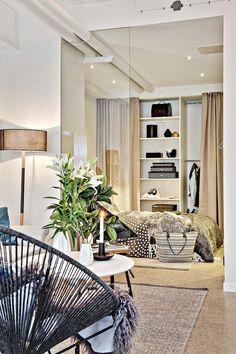 08apartamento de 33m2  luminoso salon / dormitorio | decoración