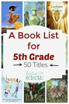 Here is our reading list for grade. Some of these books will be done as a read aloud, but most will be read independently. Oh, but a few of them will be audiobooks. I'm excited about all the books on our list and hope that we can finish all of themRead 5th Grade Books, 5th Grade Ela, Teaching 5th Grade, 5th Grade Classroom, 5th Grade Reading, Fifth Grade, Kids Reading, Reading Activities, Teaching Reading