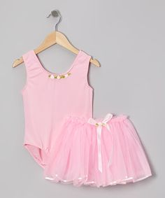 This Princess Expressions Pink Princess Leotard & Tutu - Toddler & Girls by Princess Expressions is perfect! #zulilyfinds