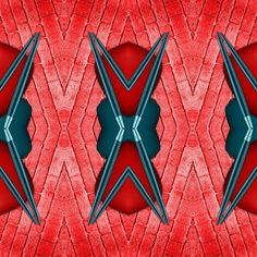 Duo de papier digital rouge