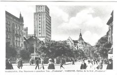"""""""Prudential""""-the most modern and the tallest sky scraper in Warsaw in 1934"""
