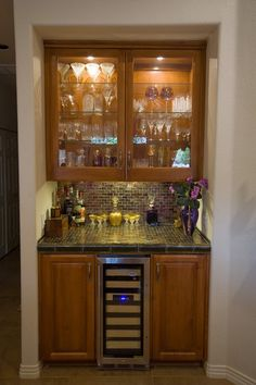 newcreationsaustincom austin kitchen remodel butler bar granite counter tops wood cabinets - Kitchen Remodel Austin