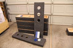 Holey Board - A fun outdoor washer game that's easy to make.