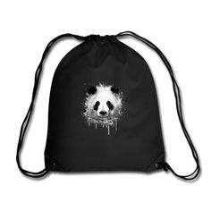 Sac Cool Artistic Panda Portrait conception d'aquarell #cloth #cute #kids# #funny #hipster #nerd #geek #awesome #gift #shop Shop more bags here:  http://www.pinkice.com/Shop/ACCESSORIES/Bags/29