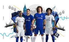 21f614bb77e Chelsea unveil new blue home kit for 2017-18 season