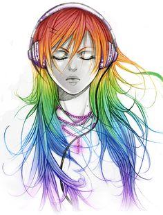 rainbow rainbow rainbow by *AikaXx on deviantART