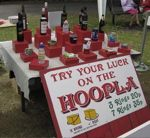 Hoopla - A Winning Fete Idea Perhaps a wine hoopla for the adults Christmas Stall Ideas, Christmas Fayre Ideas, Christmas Activities, Christmas Crafts, Xmas, Fundraising Games, Charity Fundraising Ideas, Christmas Fundraising Ideas, Charity Ideas