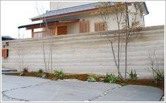 ご近所大絶賛!最大級の版築土塀!
