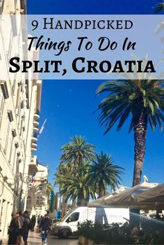 Can't decide what to do when visiting Split, Croatia? Start with these handpicked favorites! http://www.littlethingstravel.com