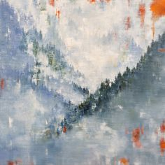 Paintings – gina sarro landscapes - SOLD - It's just as I remember - Inquire Abstract Landscape, West Coast, Mists, Layers, Canvas, Artist, Landscapes, Paintings, Instagram