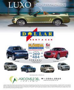 Cliente: Dollar Rent a Car e Arco Verde Turismo