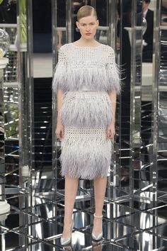 Chanel, Couture, Spring Summer 2017 Fashion Show in Paris Chanel Couture, Style Haute Couture, Spring Couture, Couture Fashion, Fashion Week, Fashion 2017, Runway Fashion, High Fashion, Fashion Show