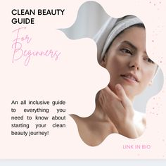 Beauty Guide, Clean Beauty, Beauty Routines, Clean House, Need To Know, The Past, Personal Care, Cleaning, Self Care