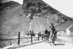 Coppi and Bartali fight for supremacy on the mountains