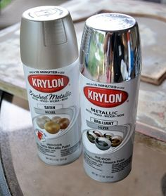 1000 Ideas About Silver Spray Paint On Pinterest Silver Spray Spray Painting And Sprays