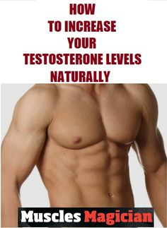 Find out how to increase your testosterone levels naturally to gain muscle mass and improve libido. Natural Testosterone, Testosterone Booster, Testosterone Levels, Build Muscle Mass, Gain Muscle, Workout Plan For Men, Fit Board Workouts, Body Weight, The Magicians