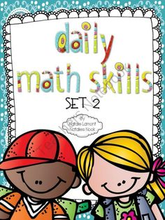 Daily Math Skills Set 2 product from Natalies-Nook on TeachersNotebook.com