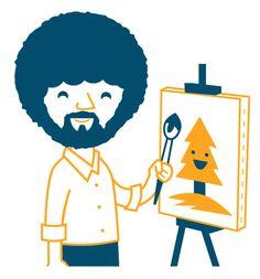Dave Perillo es un ilustrador residente en Filadelfia, USA. El trabajo de Dave es un trabajo limpio, con lineas muy perfectas y con colores suaves. Su obra se inspira principalmente en películas de los 50's sobre ciencia ficción , el arte de Charles Schultz y Roy Lichtenstein, las marionetas de Jim Henson o los dibujos de Hanna Barbera.