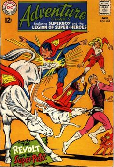 Cover for Adventure Comics (1938 series) #364
