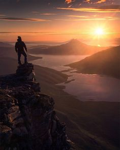 """lsleofskye: """"The midnight sun in Northern Norway Alone Photography, Amazing Photography, Landscape Photography, Nature Photography, Travel Photography, Silhoutte Photography, Photography Magazine, Editorial Photography, Destinations"""