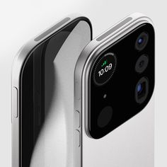 called mosaic, industrial designer louis berger conceptualizes a modular camera device for smartphones like the apple iphone. Iphone Camera, Leica Camera, Nikon Dslr, Camera Gear, Film Camera, Concept Phones, Gopro Video, Photo Tiles, Mobile Computing