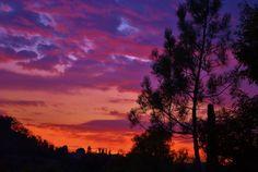 sunset,Escondido,Ca