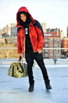 Louis Vuitton Camo bag, Pigalle Sweatshirt. #fashion