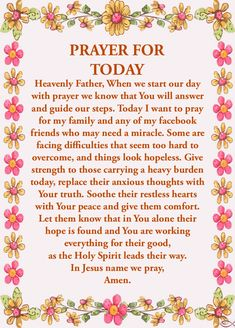 Good Morning Prayer, Morning Prayers, Prayer For Today, Daily Prayer, Restless Heart, Powerful Prayers, Loss Of Loved One, Abba Father, Play Sets