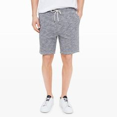 Try out with bomber jackets, black belts, stripe jersey shirts and more when you're wearing men's fleece shorts. The styling possibilities are infinite, so it's time you stock your closet with numerous pairs of shorts in different colors and designs.