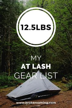 Last year I attempted a thru-hike of the Appalachian Trail (read last year's gear list here). I completed 140 miles of the trail before having to get off due to horrible pain in my feet. Ultralight Backpacking Gear, Hiking Gear, Hiking Trails, Hiking The Appalachian Trail, Camping Gear, Pct Trail, Solo Camping, Backpacking Meals, Camping Survival
