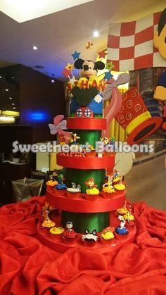 Disneyland personalized cakes and cupcakes for your son's party celebration.  (02) 5249882; 09178908628