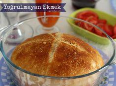 NY Times Famous Non-Knead Bread - Dessert Bread Recipes Best Bread Recipe, Bread Recipes, Cooking Recipes, No Knead Bread, Sourdough Bread, Bakery Recipes, Dessert Recipes, Cookery Books, Easy Bread
