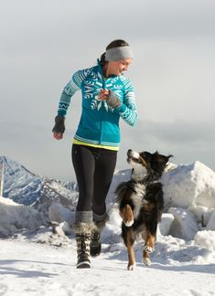 Snowplow Sweater + Polartec® Power Stretch® Tight | Athleta Winter 2012 Collection