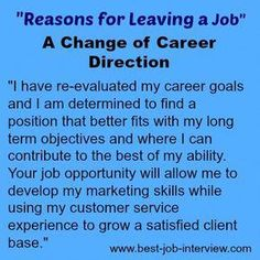 Valid reasons for leaving a job. How to explain why you want to leave your job. Best interview answers to the reason for leaving interview question. Resume Writing Tips, Resume Skills, Job Resume, Resume Tips, Job Interview Answers, Job Interview Preparation, Job Interview Tips, Job Interviews, Reason For Leaving