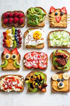 Here are our 21 favorite healthy breakfast toast ideas! These easy recipes ar. Healthy Breakfast Recipes, Brunch Recipes, Healthy Snacks, Healthy Recipes, Free Recipes, Easy Recipes, Breakfast Toast, Breakfast Ideas, Brunch Ideas