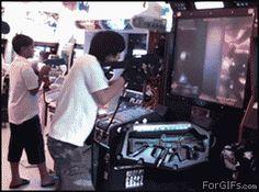 Arcade level: Asian