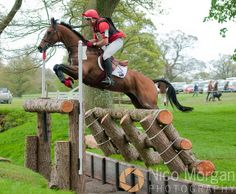 Paul Tapner and INONOTHING, Badminton Horse Trials 2010
