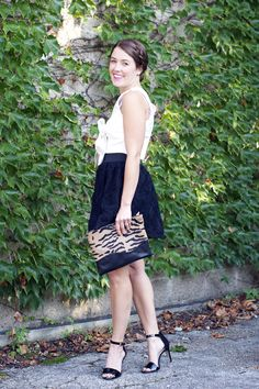 adorable look on Schneider! Sequins And Stripes, High Fashion, Women's Fashion, Adams Family, Lake Shore, Target Style, Envy, Style Me, Special Occasion