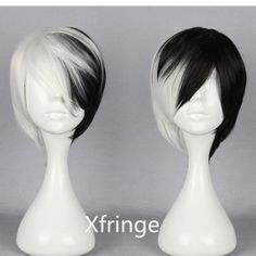 Dangan Ronpa Cosplay Wig Monokuma Male Ver. Cosplay Wig by xfringe, $12.99